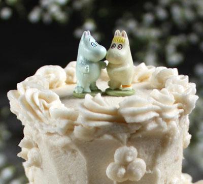 Admittedly my mini cake resembled a wedding cake